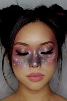 Looking for for ideas for your Halloween make-up? Browse around this website for cute Halloween makeup looks. Makeup Hacks, Makeup Tips, Beauty Makeup, Makeup Ideas, Makeup Trends, Face Makeup Art, Nail Ideas, Drugstore Beauty, Makeup Set