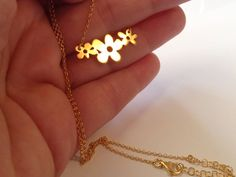 Handmade Jewelry, Gold Necklace, Necklaces, How To Make, Etsy, Shoes, Gold Pendant Necklace, Zapatos, Shoes Outlet