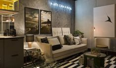 Loft de 35 m² com decoração urbana e versátil   CASA CLAUDIA