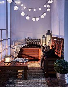 Truhe Balkon