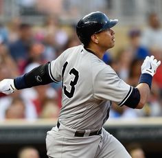 July 25, 2015 - A Rod Has A 3 Home Run Game Including A Pivotal 9th Inning Homer As The Yankees Go On To Win Against The Minnesota Twins 8 - 5