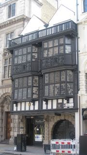 Prince Henry's room was originally built in 1610 although much of what can be seen heavily restored from the 1905 restoration