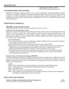customer service resume 9 - Customers Service Resume