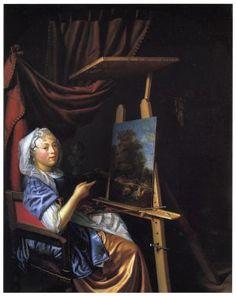 Schalcken, Maria (1645/1650-vóór 1700)