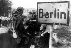 Russians arriving, 1945