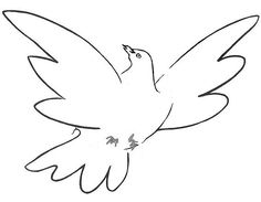 "Képtalálat a következőre: ""picasso dove"" Picasso Dove, Picasso Drawing, Pablo Picasso, Peace Drawing, Line Drawing, Dove Tattoo Design, Tattoo Designs, Class Art Projects, Cubist Movement"