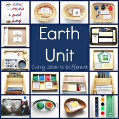 Every Star Is Different: Earth Unit w/ Free Printables