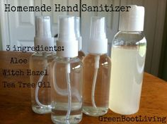 I have been wanting to make my own homemade hand sanitizer for awhile. Since both the boys are in school now we are using a lot of hand sanitizer.