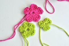 flowers to knit
