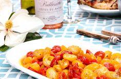 Recipe: Roasted Cherry Tomatoes with Garlic & Honey
