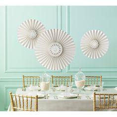 Amazon.com: Martha Stewart Crafts Hanging Rosettes, Doily Lace