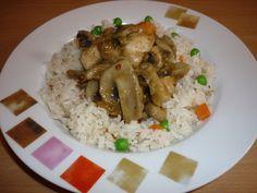 Egy finom Kínai gombás csirke zöldséges rizzsel ebédre vagy vacsorára? Kínai gombás csirke zöldséges rizzsel Receptek a Mindmegette.hu Recept gyűjteményében! Food, Essen, Meals, Yemek, Eten