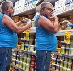 Pandemic Dan... only at walmart. : peopleofwalmart Only At Walmart, People Of Walmart, Pictures Of People, Funny Pictures, Horrible People, Best Instagram Photos, Image Macro, Nice Tops, Helping People