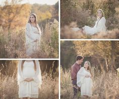 couples maternity outdoor portraits | Chattanooga Maternity Photographer | Sweet Caroline Photographie