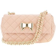 MOSCHINO CHEAP & CHIC quilted bow tote (13 755 UAH) ❤ liked on Polyvore featuring bags, handbags, tote bags, bolsas, purses, accessories, clutches, purse tote, pink tote purse and pink handbags