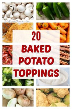Set up a Baked Potato Bar with lots of topping choices people enjoy on their baked potatoes. Potato Recipes, Pork Recipes, Cooking Recipes, Healthy Recipes, Lasagna Recipes, Icing Recipes, Ramen Recipes, Pudding Recipes, Turkey Recipes
