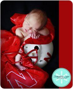 Love this idea!    Samantha Lupo Photography: Baby K {Omaha Newborn Photographer}