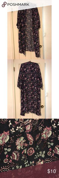 Duster kimono Floral duster kimono. NWOT. Cotton On Sweaters Cardigans