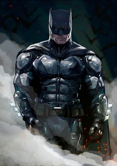 Ben Affleck as Batman from Justice League - Gregory Kovalev