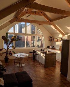 Sweet Home, Dream Apartment, Retro Apartment, Aesthetic Rooms, House Goals, Dream Rooms, My New Room, Home Design, House Interior Design