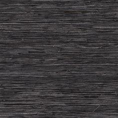 Décor & Pillows - Slate Grasscloth Wallpaper