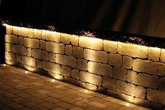 Rustik mur från St:Eriks, belysning fixar du enkelt med In-Lite! Landscape Lighting, Outdoor Lighting, Beddinge, Spa Lounge, Light In, Backyard, Patio, Garden Pool, Landscape Designs