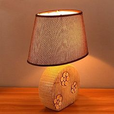 NOVICZ Electric Home Decorative Modern Table Lamp Night Light Night Lamp for Bedroom Living Room Kids room Office