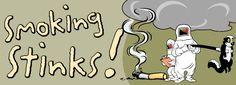 Kouření smradí!