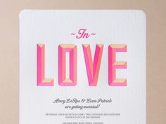 If you're at a loss for wedding inspiration, look no further than Valentine's Day. From its trademark pink-red-and-white color palette to its emphasis on hearts, love, and all-things romantic, there's plenty to be gleaned from this couple-focused holiday all year round. After all, you don't need to wait for February 14th to add a love-struck vibe to your big day, particularly when it comes to wedding stationery. There are tons of paper trends that we're obsessed with, but one that never goes…