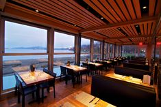 Vancouver restaurants with a view: the English Bay location of Cactus Club Café
