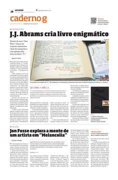 """Título: Jon Fosse explora a mente de um artista em """"Melancolia"""" Veículo: Gazeta do Povo Data: 11/01/2016 Cliente: Alaúde"""