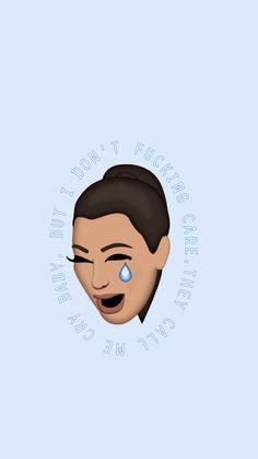 kim kardashian, kim, and emoji image