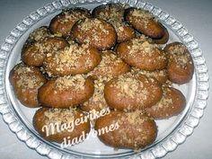 Μελομακαρονα της Τζενης Recipe Images, Pretzel Bites, Sweets, Bread, Cookies, Cake, Ethnic Recipes, Desserts, Food