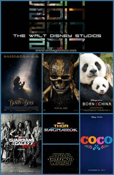 The 2017 Walt Disney Studios Motion Picture Slate is going to be one of their best yet!!!