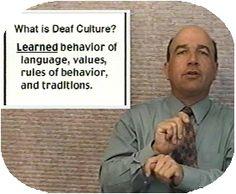 Dr. Sign's definition of Deaf Culture