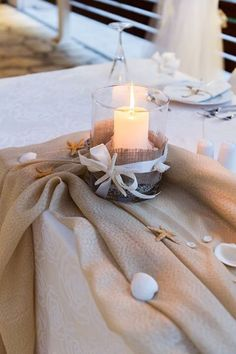 Beautiful Beach Wedding Decoration in Lefkada, Greece.