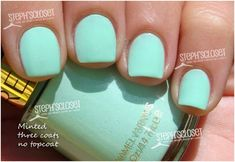 Minted | Best Revlon Nail Polishes And Swatches – Our Top 10 | StyleCraze