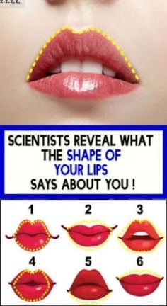 ACCORDING TO SCIENCE, YOU ARE SINGLE BECAUSE YOUR LIPS LOOK LIKE THIS