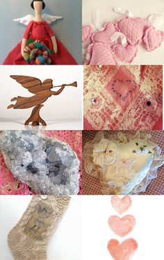 AT THE CORNER OF ANGELS AND HEARTS by Laura on Etsy--Pinned with TreasuryPin.com