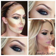 Jennifer Siedler's make up  http://instagram.com/p/jDSlk7lOoH