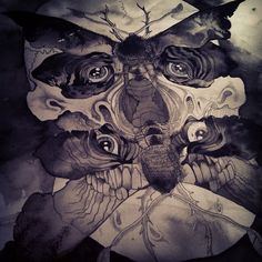 Sin Eater Illustrations