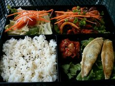 Korean Bento @ Green Spoon Cafe