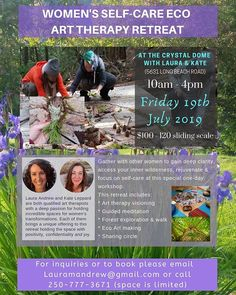 #retreat #nelsonbc # nelsonbccanada #arttherapy #eco #ecoart #women #joinus Beach Road, Other Woman, Art Therapy, Long Beach, Workshop, Creativity, Day, Instagram, Women