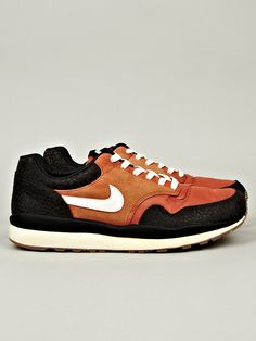 Nike Men's Air Safari Vintage Sneaker in mesa orange at oki-ni