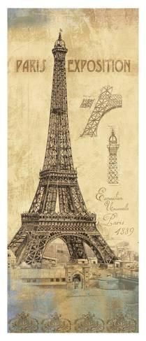 Art Print: Architecture I by Daphné B : 42x18in