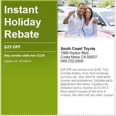 Use This #service #coupon Before Itu0027s Too Late At South Coast Toyota In #
