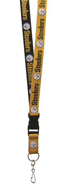 Pittsburgh Steelers Lanyard - Two-Tone