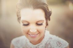 Gladstone, Queensland, Australia Wedding from Kellie Blinco Photography - gorgeous makeup  Read more - http://www.stylemepretty.com/australia-weddings/2013/11/07/gladstone-queensland-australia-wedding-from-kellie-blinco-photography/