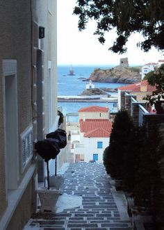 Smellscapes of a Greek island - Andros, Cyclades