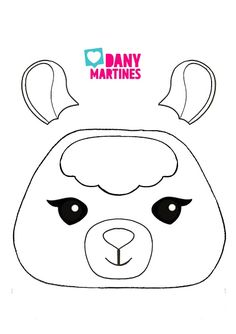 DIY 3 - Estojo Lhama - Google Drive Felt Patterns, Stuffed Toys Patterns, Llama Birthday, Llama Alpaca, Applique Templates, Idee Diy, Valentine Box, Felt Toys, Felt Ornaments